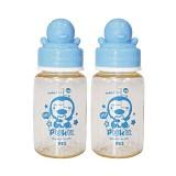 PUKU Botol Susu PES 120cc 2pcs [P11529-B]  - Blue - Botol Susu
